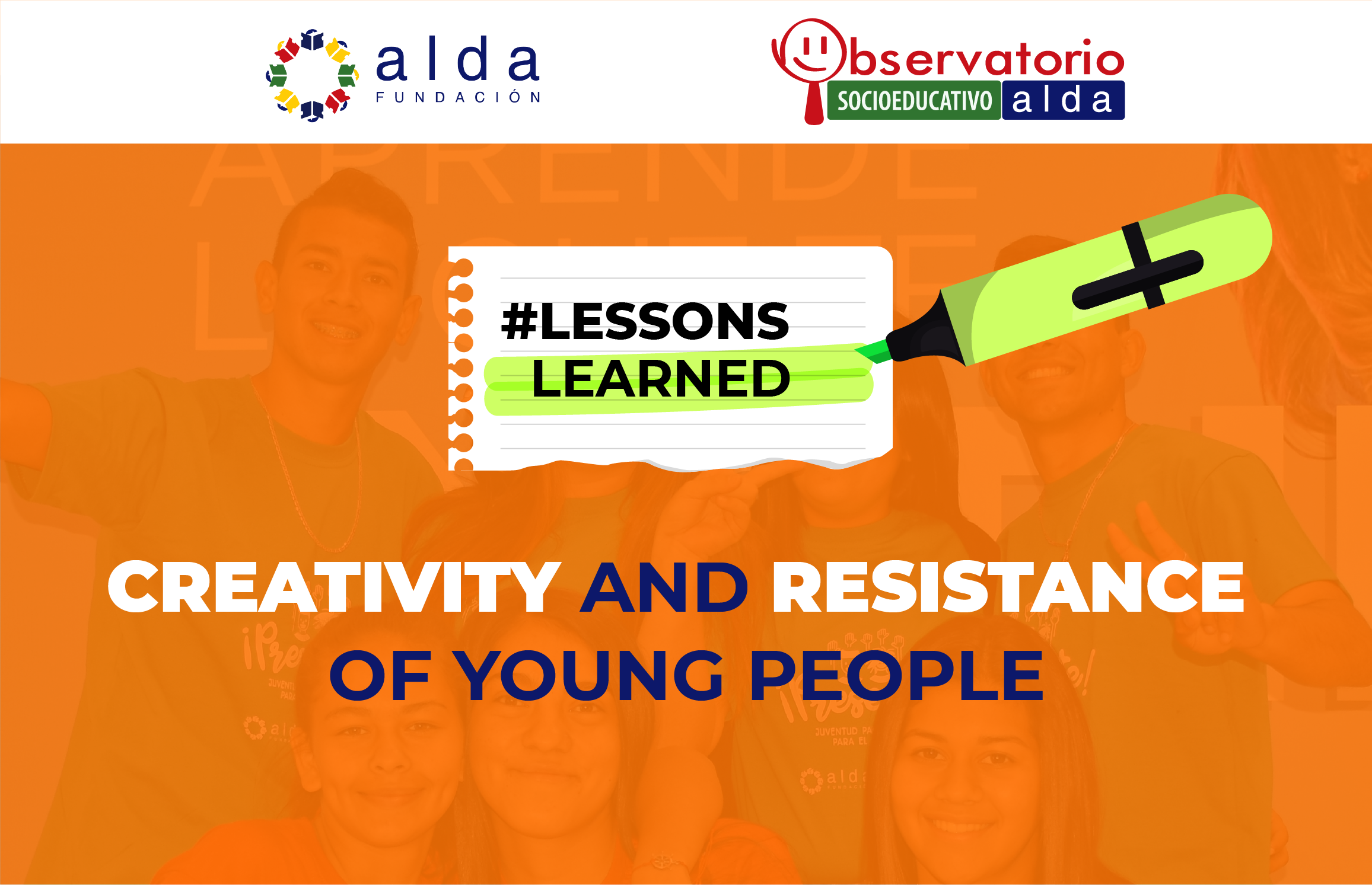 Creativity and resistance of young people